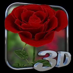 3D Rose Live Wallpaper 個人化 App LOGO-APP試玩