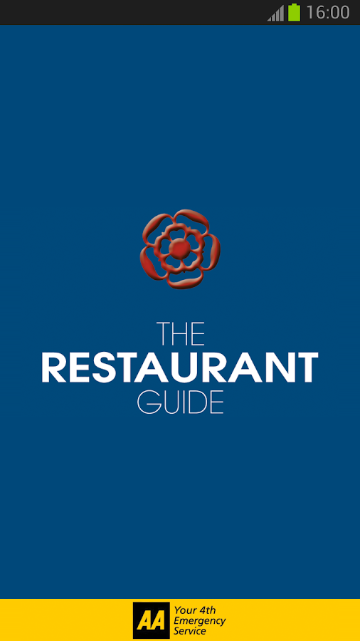 2013 AA Restaurant Guide - screenshot