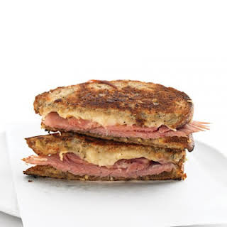 Grilled Ham-and-Cheese Sandwiches.