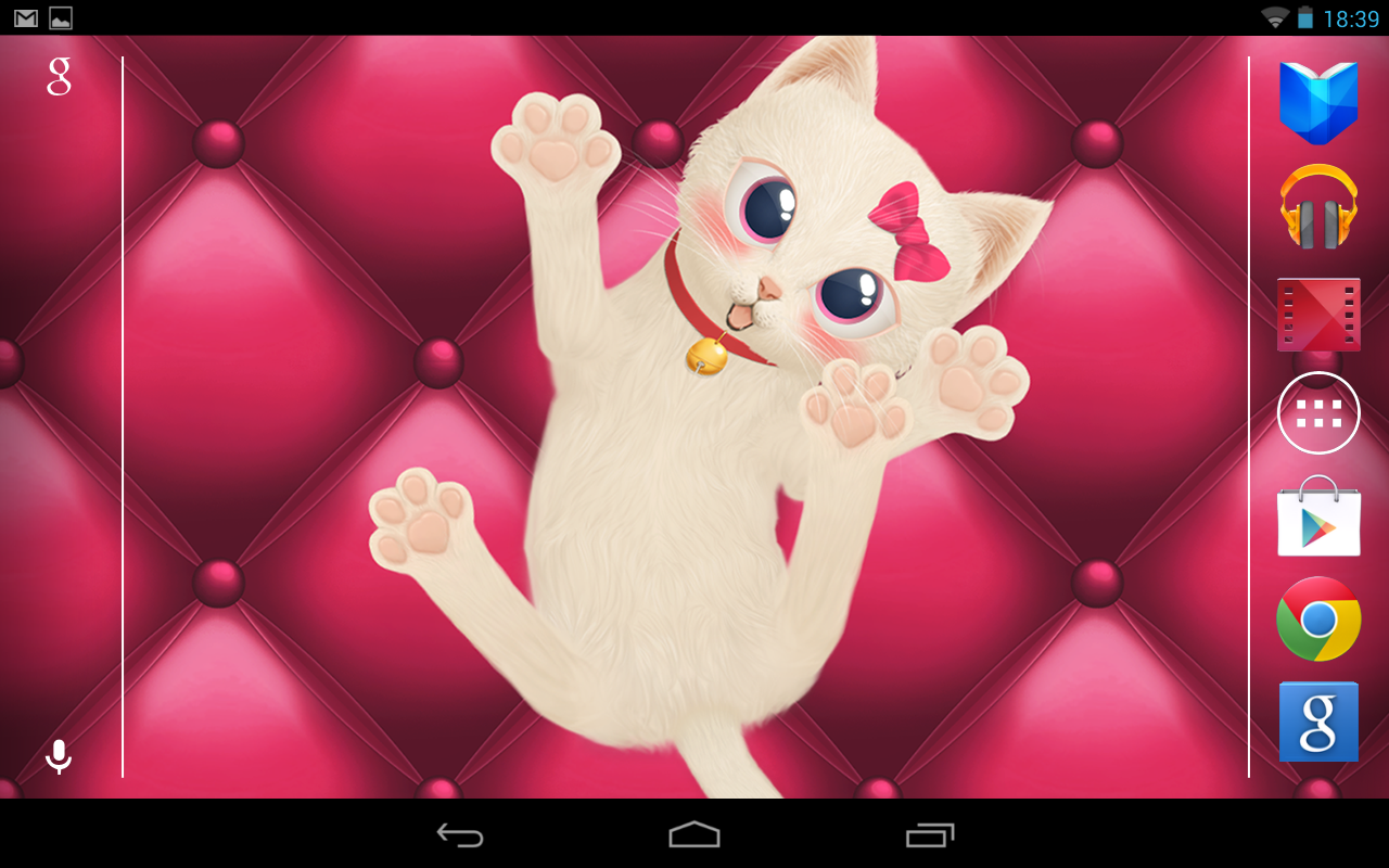 Cat Live Wallpaper Best - screenshot