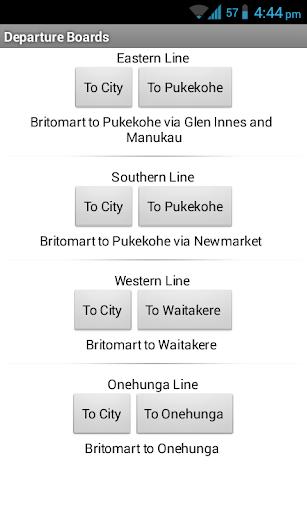 TrainTracker Auckland