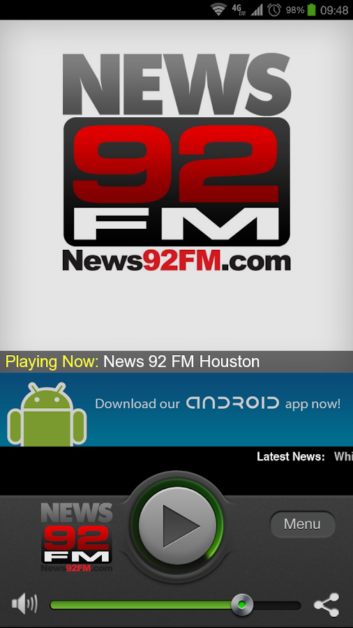 News 92 FM Houston - screenshot