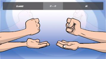 Screenshot of Rock Paper Scissors Online