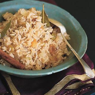 Cinnamon Basmati Rice with Golden Raisins