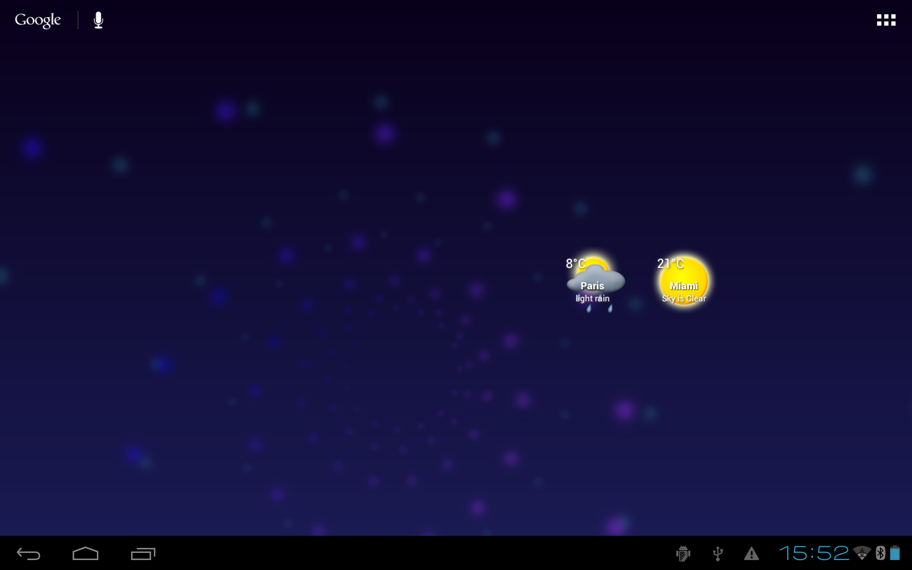 Circle Weather - screenshot