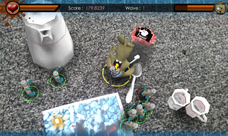 Zombie Toy Attack - screenshot