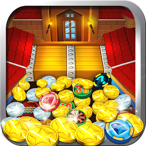 The most realistic arcade coin pusher game.  Free, fun and the prizes are great! APK Icon