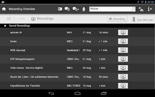 Screenshot of Philips MyRemote