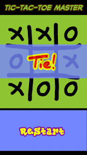 Tic-Tac-Toe Master- screenshot thumbnail