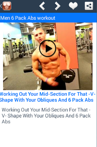 Men 6 Pack Abs Workout