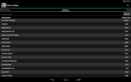 ... Railway data Offline- screenshot thumbnail ...