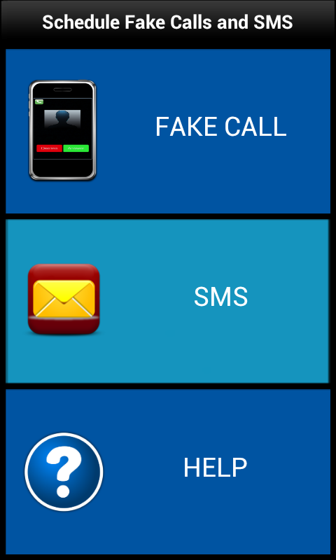 Fake Call [Call Me Now] - screenshot
