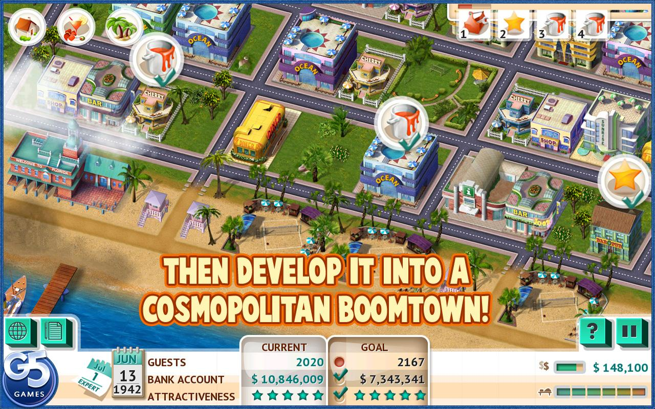 Build It! Miami Beach Resort - screenshot