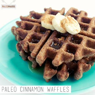 Paleo Cinnamon Waffles