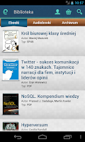 Screenshot of Ebookpoint (czytnik eBooków)