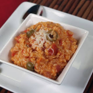 Oven Baked Spicy Rice.