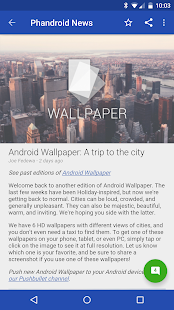 Phandroid News for Android™ - screenshot thumbnail