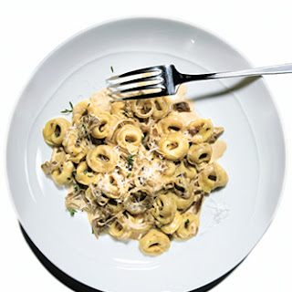 Tortellini with Porcini Mushroom Sauce