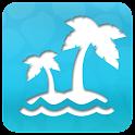Launcher 8 theme Summer beach