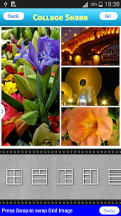 Collage share - Pic Grid- screenshot thumbnail
