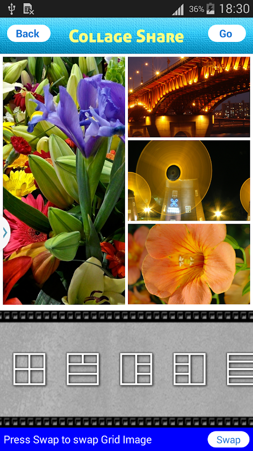 Collage share - Pic Grid- screenshot