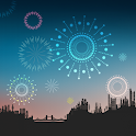 Fireworks from 7pm Atom Theme