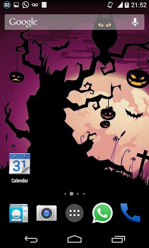 Halloween HD Live Wallpaper 4