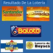 Resultados Loterías Colombia