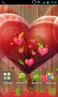 GO Launcher EX Fabulous Hearts - screenshot thumbnail