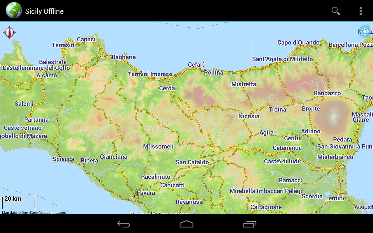 verbalone giurisprudenza catania italy map - photo#50