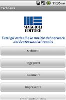 Screenshot of Technews