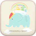 Dreaming child go launcher icon