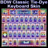 Classic Tie Dye Keyboard skin