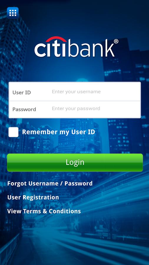 Citibank Indonesia - screenshot