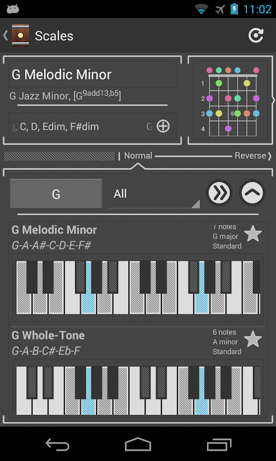Chord! Free (Guitar Chords) - screenshot