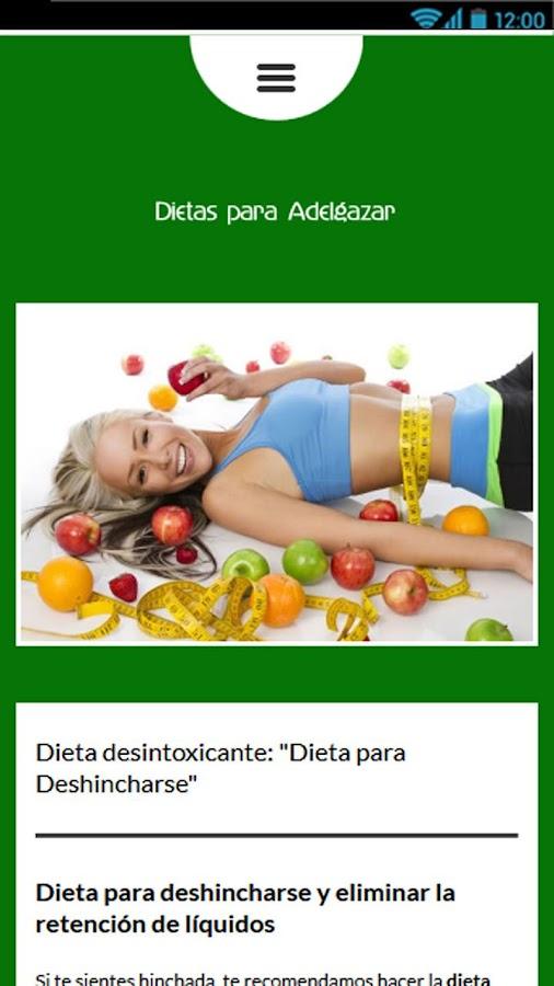 Dietas para Adelgazar - Android Apps on Google Play