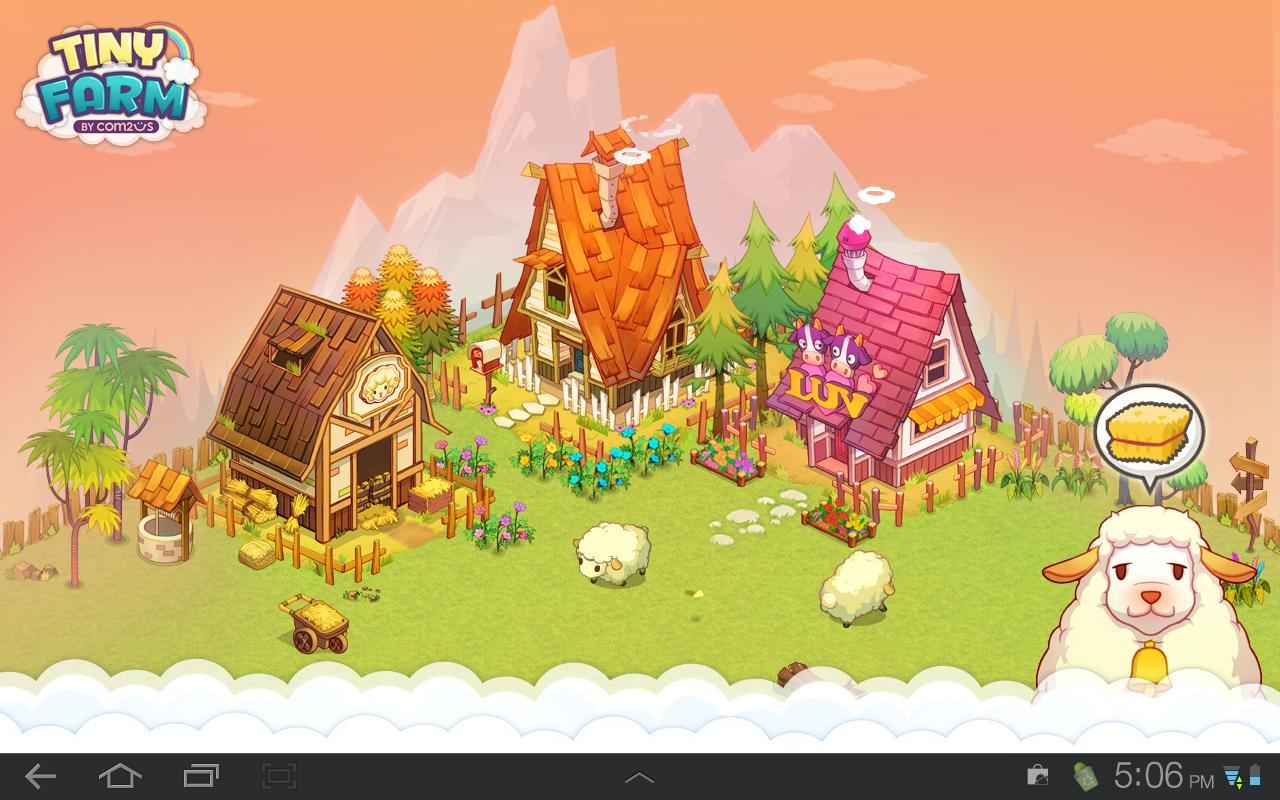 Tiny Farm Live Wallpaper- screenshot