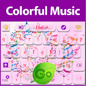GO Keyboard Colorful Music