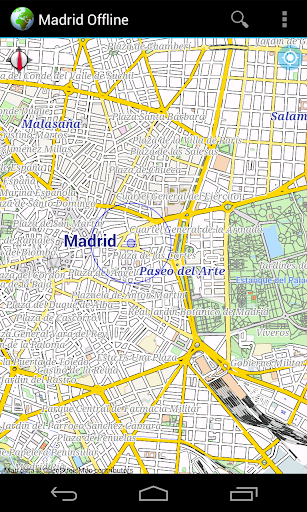 Offline Map Madrid