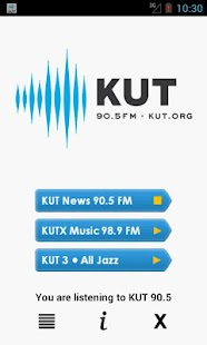 KUT 90.5 Music, News, & NPR- screenshot thumbnail