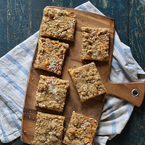 3 Ingredient Almond Butter Granola Bars