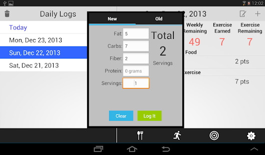 MyScore Plus - Weight Watchers- screenshot thumbnail