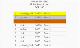 Screenshot of Break Master