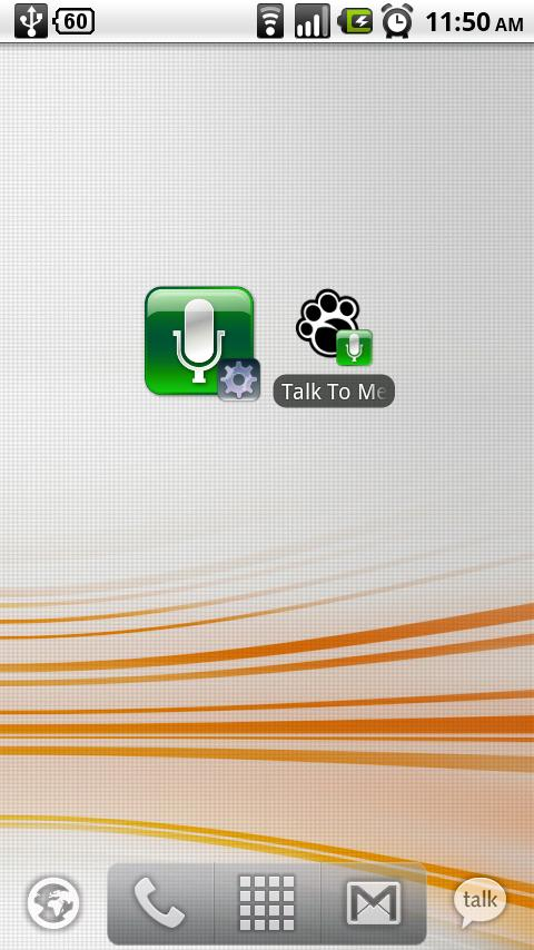 Talk To Me Classic- screenshot