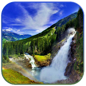 3D vattenfall live wallpaper