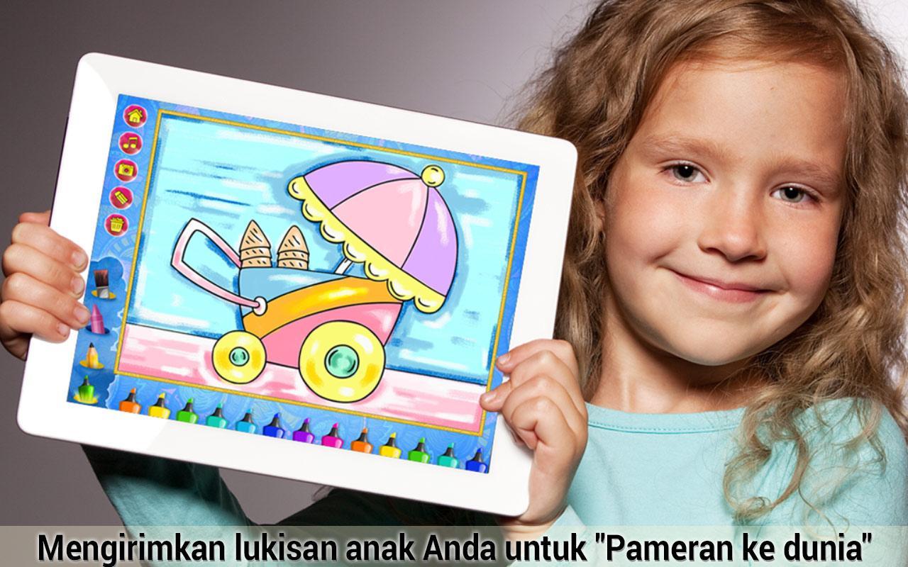 Anak Anak Mewarnai Dan Melukis Apl Android Di Google Play