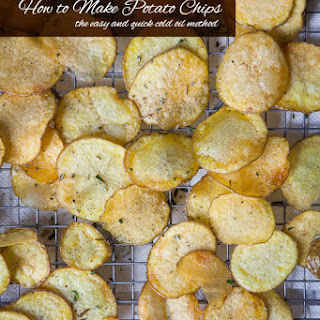 How To Make Potato Chips.