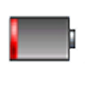 Fast discharge icon