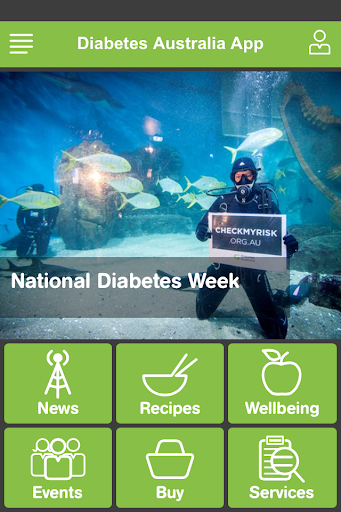 Diabetes Australia app