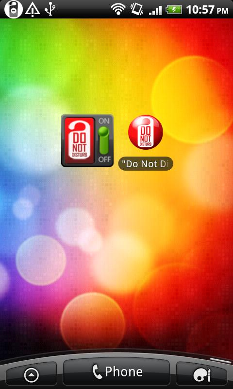 """Do Not Disturb"" (free)- screenshot"